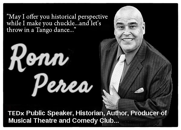 Ronn Perea Tedx Public Speaker Comedy Club in ABQ